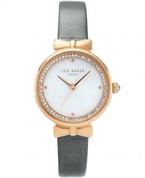 Ted Baker Gold Grey Ladies Womens Wrist Watch TE50861003