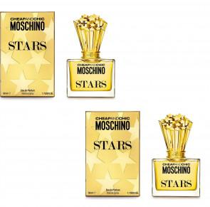 Moschino Ladies Womens Cheap And Chic Stars 50ml EDP Fragrance Perfume 2 Pack