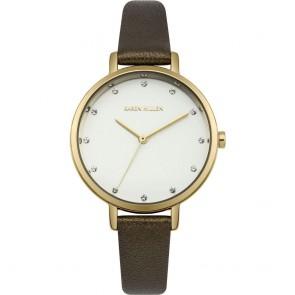 Karen Millen Womens Ladies Brown Wrist Watch KM157T