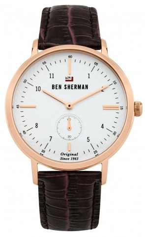 Ben Sherman The Dylan Professional Mens Gents Wrist Watch WBS102TRG