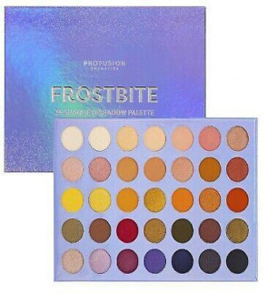 PROFUSION LADIES WOMENS 35 SHADE FROSTBITE EYESHADOW PALETTE
