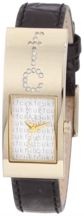 French Connection Rectangle Ladies Womens Wrist Watch FC1014G