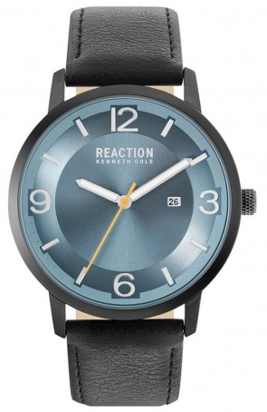 Kenneth Cole Reaction Black & Blue Mens Gents Wrist Watch RK50600003