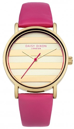Daisy Dixon Ladies Womens Poppy Wrist Watch Gold Dial Face DD009PG