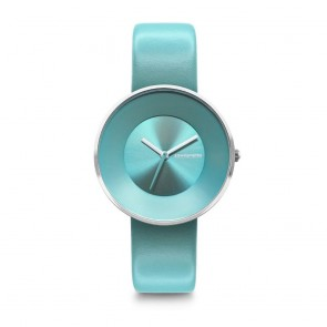 Lambretta Cielo 34 Turquoise Silver Ladies Womens Wrist Watch 2201TUR