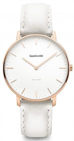 Lambretta Classico 36 Ladies Womens Wrist Watch White 2228GRA