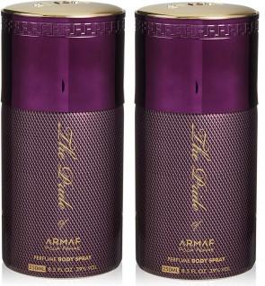 ARMAF Ladies Womens The Pride Of Armaf Purple Body Spray 250ml 2 Pack