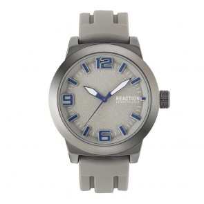 Kenneth Cole Reaction Beige & Silver Mens Gents Wrist Watch RK50092004