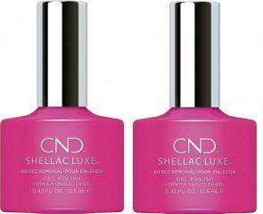 CND Shellac Luxe Ladies Womens Nail Polish Varnish Tutti Frutti 2 Pack