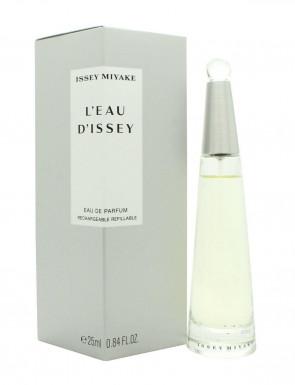 Issey Miyake Ladies Womens L'eau D'issey Refillable 25ml EDP Fragrance Perfume