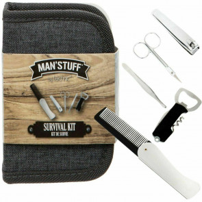 Technic Mens Gents Man Stuff Survival Kit Gift Set