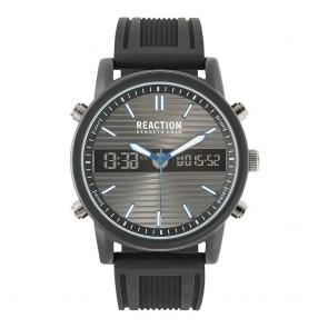 Kenneth Cole Reaction Black Mens Gents Wrist Watch RK50549007
