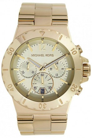 Michael Kors MK5313 Ladies Wristwatch Gold Tone Bracelet