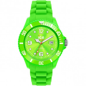 ICE Unisex Watch Green Face Green Silicone Strap 00136