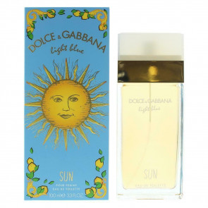 Dolce & Gabbana Light Blue Sun 100ml EDT Ladies Womens Fragrance Perfume
