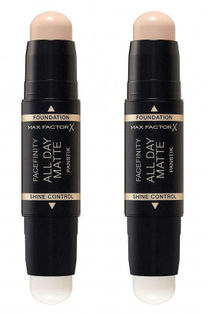 MAX FACTOR LADIES WOMENS FACEFINITY ALL DAY PAN STIK FAIR PORELAIN 10 X 2PACK