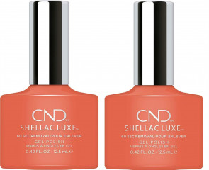 CND Shellac Luxe Ladies Womens Nail Polish Varnish Soulmate 2 Pack
