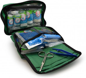 90 Piece Car Camping Work Outdoor Home Premium First Aid Kit