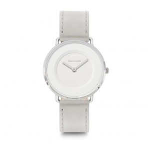Lambretta Ladies Womens Mia 34 Leather Silver White Grey Wrist Watch 2250GRE