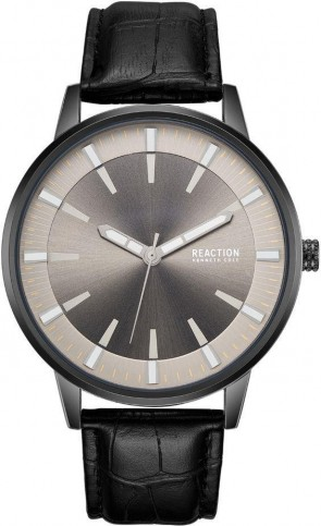 Kenneth Cole Reaction Black & Grey Mens Gents Wrist Watch RK50094002