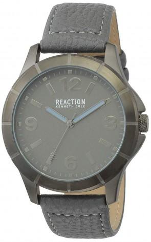 Kenneth Cole Reaction Grey & Silver Mens Gents Wrist Watch RK50601001