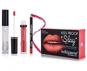 Bellá Pierre Cosmetics Make-up Set Kiss Proof Slay Kit