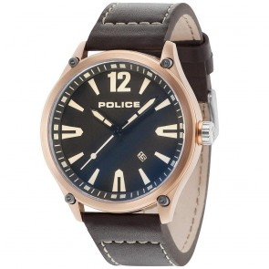 Police Gents Mens Denton Wrist Watch 15244JBR/02