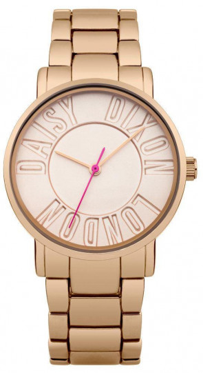Daisy Dixon Ladies Christie Wrist Watch Rose Gold Dial Rose gold Strap DD035RGM