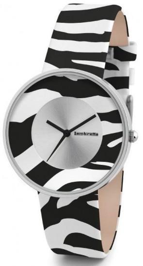 Lambretta Ladies Womens Wrist Watch Zebra White 2109WHI