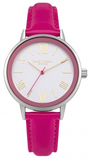 Daisy Dixon Ladies Womens Kourtney Wrist Watch White Face DD046PS