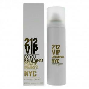 Caroline Herrera 212 VIP Ladies Womens Deodorant Spray 150ml