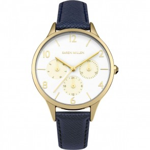Karen Millen Womens Ladies Wrist Watch KM155UG