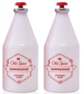 Old Spice Mens Gents Hawkridge Aftershave Lotion 100ml Fragrance 2 Pack