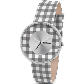 Lambretta Cielo 37 Vichy Black White Ladies Womens Wrist Watch  2107BLA