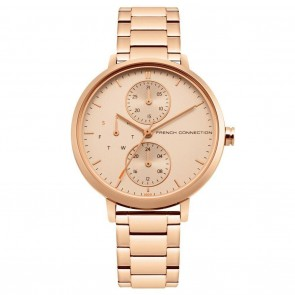 French Connection Rose Gold Ladies Womens Wrist Watch FC1323RGM