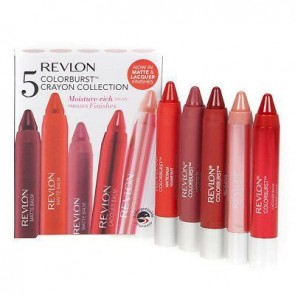 Revlon Colorburst Crayon Lip Balms 5 pack