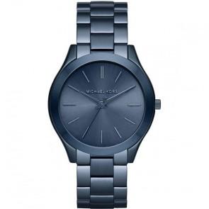Michael Kors Slim Runway Blue Ladies Womens Wrist Watch MK3419