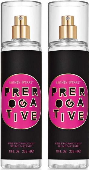 Britney Spears Ladies Womens Prerogative 236ml Fine Fragrance Body Mist Spray 2 Pack