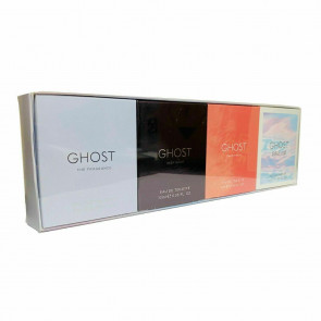 Ghost Ladies Womens 4 Piece Gift Set: Ghost EDT 5ml, Ghost Deep Night EDT 10ml, Ghost Sweetheart EDT 5ml and Ghost Dream EDP 10ml Fragrance Perfume