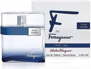 Salvatore Ferragamo Mens Gents F Free Time Pour Homme 100ml EDT Aftershave Cologne Fragrance