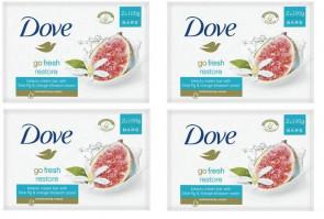 DOVE LADIES WOMENS 100G SOAP GO FRESH RESTORE 8 PACK (4X2)