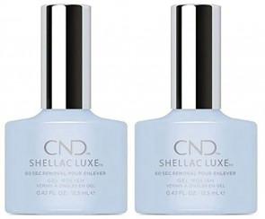 CND SHELLAC LUXE Ladies Womens Nail Polish Varnish Creekside 2 Pack