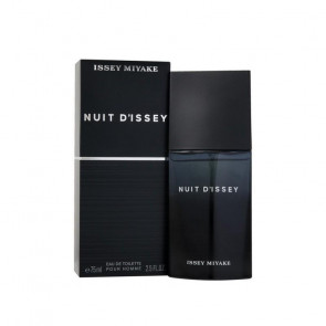 Issey Miyake Mens Gents Nuit D'issey 75ml EDT Aftershave Cologne Fragrance