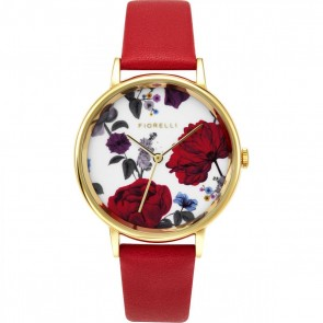 Fiorelli Ladies Watch Gold Bracelet White Dial FO043R