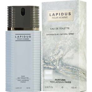 Ted Lapidus Pour Homme 100ml EDT Mens Gents Fragrance Aftershave Cologne