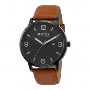 Kenneth Cole Reaction Black & Brown Mens Gents Wrist Watch RK50600001