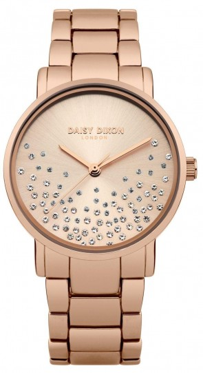 Daisy Dixon Ladies Womens Jamine Wrist Watch White Face DD053RGM