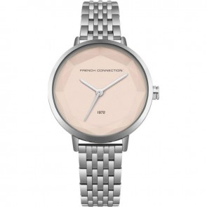 French Connection Silver Ladies Womens Wrist Watch FC1317SM