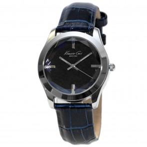 Kenneth Cole Ladies Womens Blue  Wrist Watch KCW2003