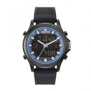 Kenneth Cole Reaction Black & Blue Mens Gents Wrist Watch RK50552005